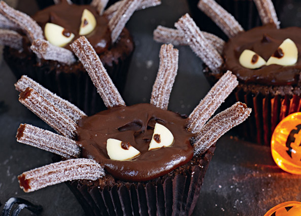 Spooky spider cupcakes recipe | Homemade